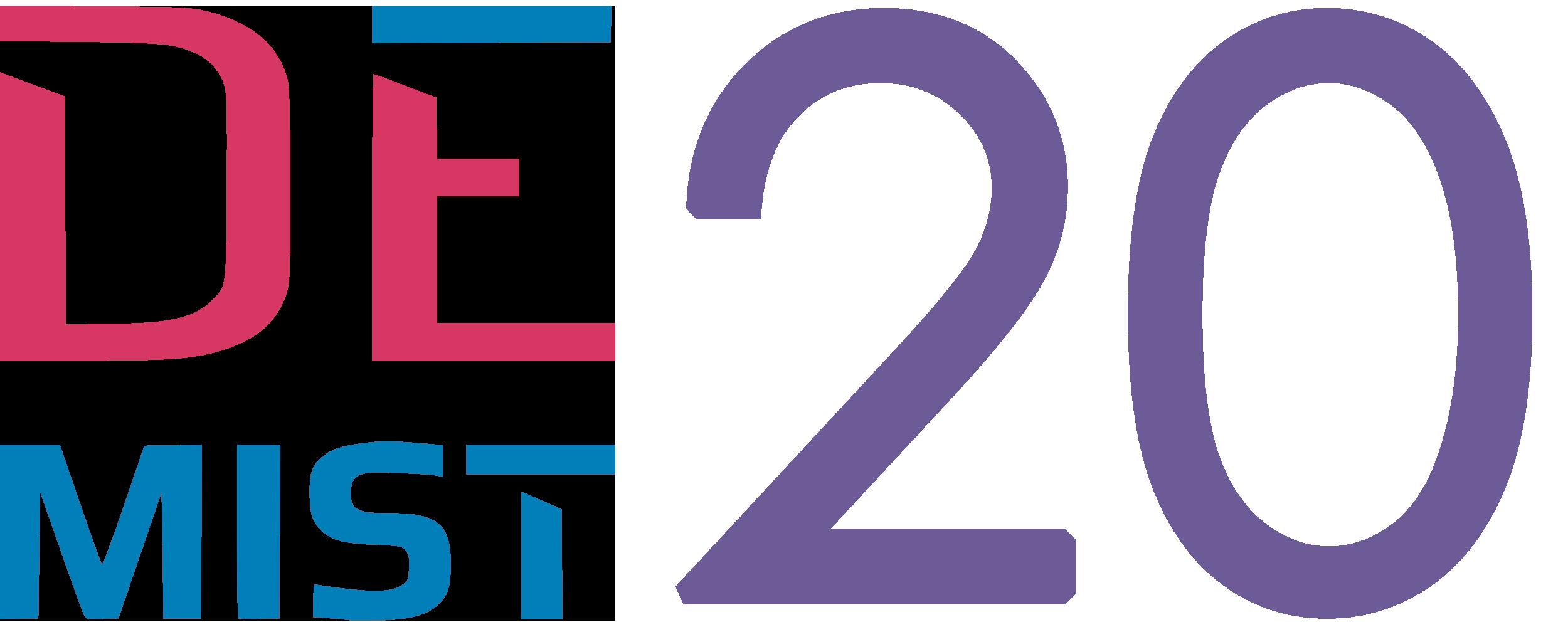 logo konferencji DEMIST 2020